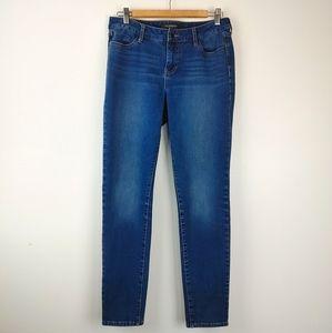 LIVERPOOL |Abby Skinny Jeans Size 30 Flourish Blue